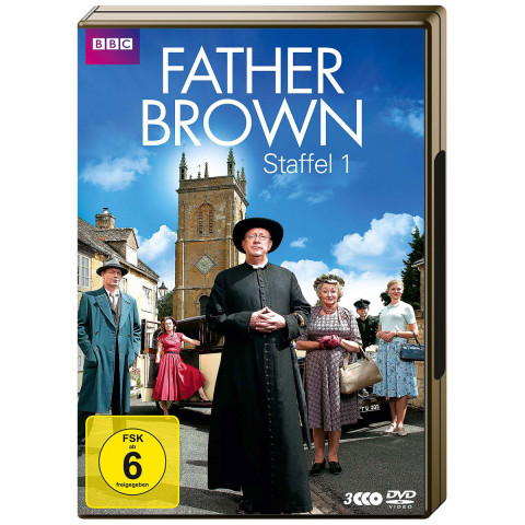 3 DVDs: »Father Brown«