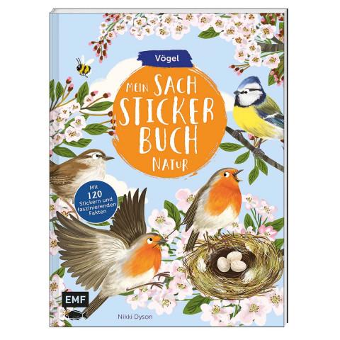 Mein Sach-Stickerbuch Natur - Vögel