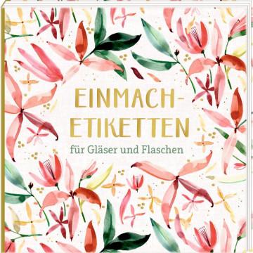 Etikettenbüchlein - Einmach-Etiketten (All about rosé)