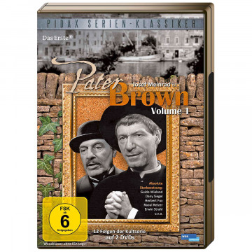 2 DVDs Pater Brown Vol 1