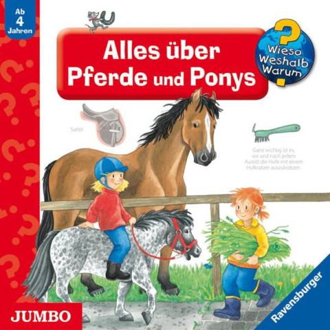 Wieso? Weshalb? Warum? Alles über Pferde und Ponys. CD