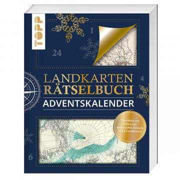 Landkarten-Rätselbuch Adventskalender