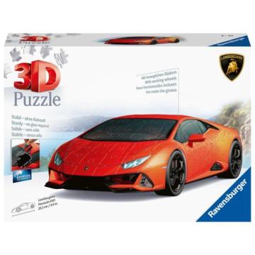 Ravensburger 3D Puzzle Lamborghini Huracán EVO 11238 - Das berühmte Fahrzeug als 3D Puzzle Auto