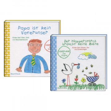 2er-Set Geschenkbücher »Kindersprüche«