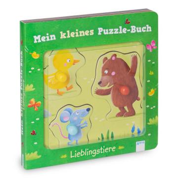 Mein kleines Puzzle-Buch »Lieblingstiere«