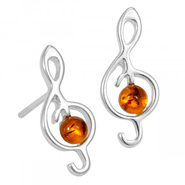 Ohrstecker »Violinschlüssel«