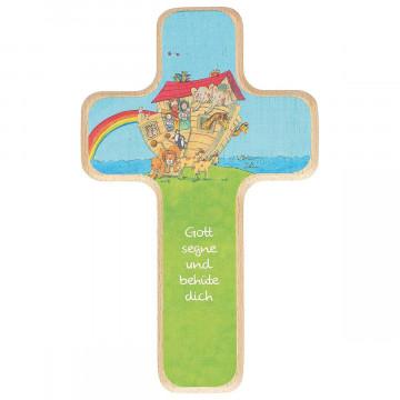 Kinderholzkreuz »Arche Noah«