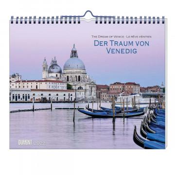 Der Traum von Venedig 2022 - Wandkalender