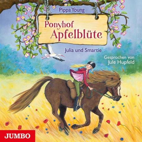 Ponyhof Apfelblüte 06. Julia und Smartie