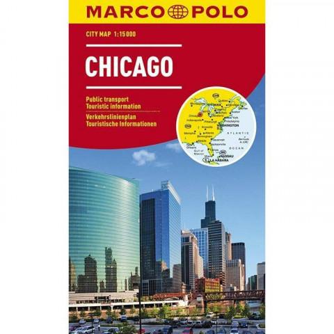 MARCO POLO Cityplan Chicago 1 : 15.000