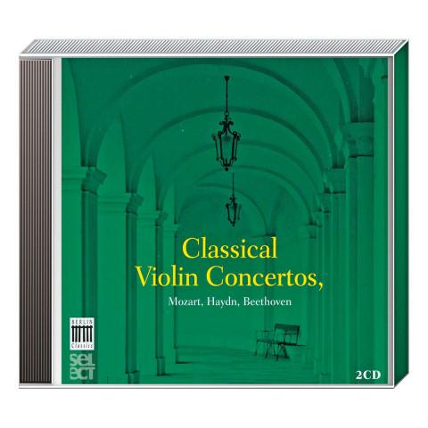 2 CDs »Classical Violin Concertos«