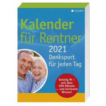 Tageskalender »Kalender für Rentner 2021«