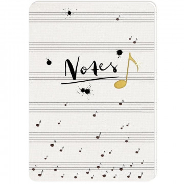 Notizhefte DIN A5 - All about music