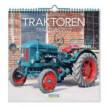 Wandkalender »Traktoren 2022«