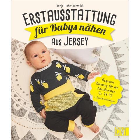 Erstausstattung für Babys nähen - aus Jersey