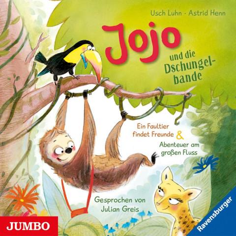 Jojo und die Dschungelbande. Ein Faultier findet Freunde [1] & Abenteuer am großen Fluss [2]