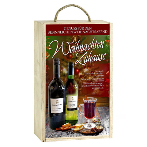 Weinbox »Weihnachten Zuhause«