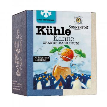 Tee »Orange-Basilikum«