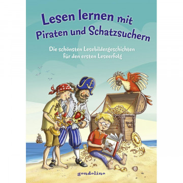 Lesen lernen mit Piraten und Schatzsuchern