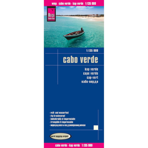 Reise Know-How Landkarte Cabo Verde 1:135.000