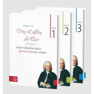 Bach-Kantaten - Dein ist allein die Ehre. Band 1-3