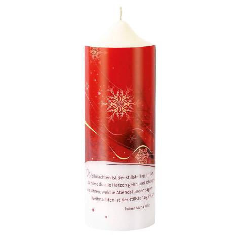 Weihnachtskerze »Rilke«