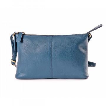 Damen-Schultertasche blau