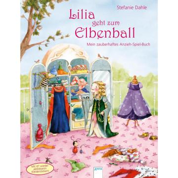 Lilia, die kleine Elbenprinzessin. Lilia geht zum Elbenball