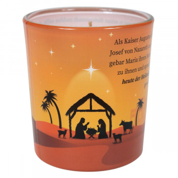 2er-Set Duftkerzenglas »Weihnachtsgeschichte«