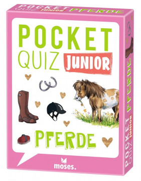 Pocket Quiz junior Pferde
