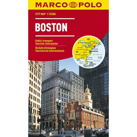 MARCO POLO Cityplan Boston 1 : 15.000