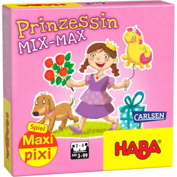 """Maxi-Pixi-Spiel """"made by haba"""" VE 3: Prinzessin Mix Max (3 Exemplare)"""