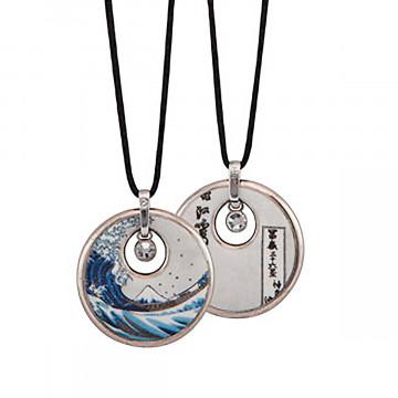 Halskette »Katsushika Hokusai«