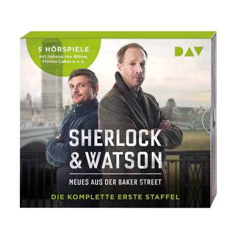 5 CDs »Sherlock & Watson«