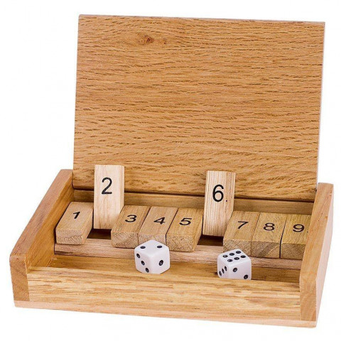 Würfelspiel Shut the box
