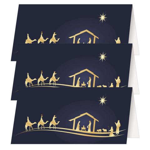 3er-Set Klappkarten » Gesegnete Weihnachten«