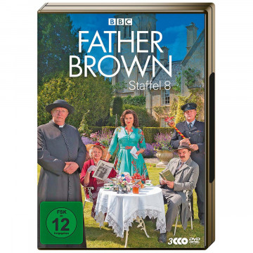 3 DVDs »Father Brown« - Staffel 8