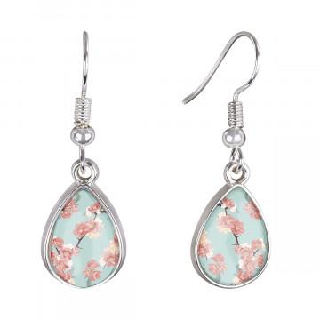 Cabochon Ohrringe »Kirschblüten«