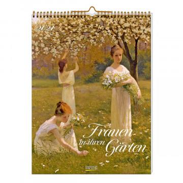 Wandkalender »Frauen in ihren Gärten 2021«