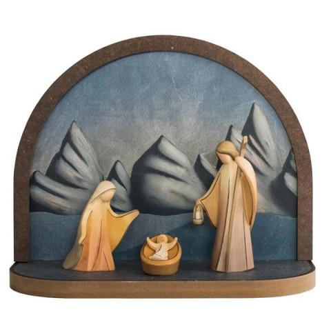 Rundbogen »Aram« mit Heiliger Familie