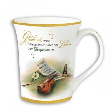 Violinen-Tasse »Saitenklang«