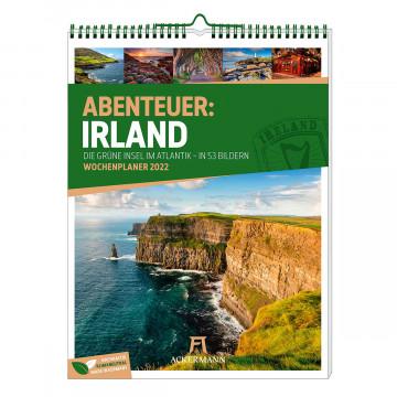 Abenteuer Irland - Wochenplaner Kalender 2022