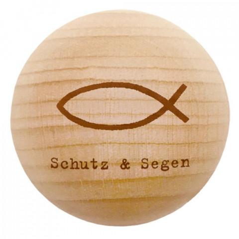 Holz-Handschmeichler - Schutz & Segen