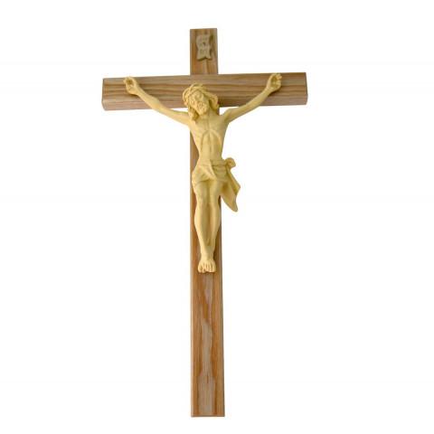 Holzkreuz mit Kunstharz Korpus