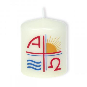 Osterkerze »Alpha und Omega«