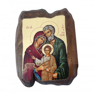 Griechische Ikone »Heilige Familie«