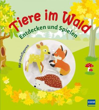 Tiere im Wald (Pappbilderbuch + 3 Holzfiguren)