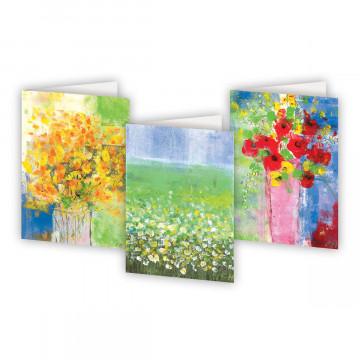 Kartenbox »Bunte Blumen«