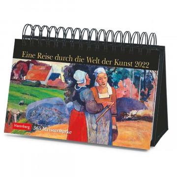 Kalender »Eine Reise durch die Welt der Kunst« 2022