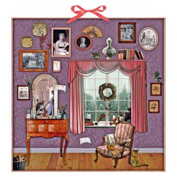 Zettel-Adventskalender »Weihnachten mit Jane Austen«